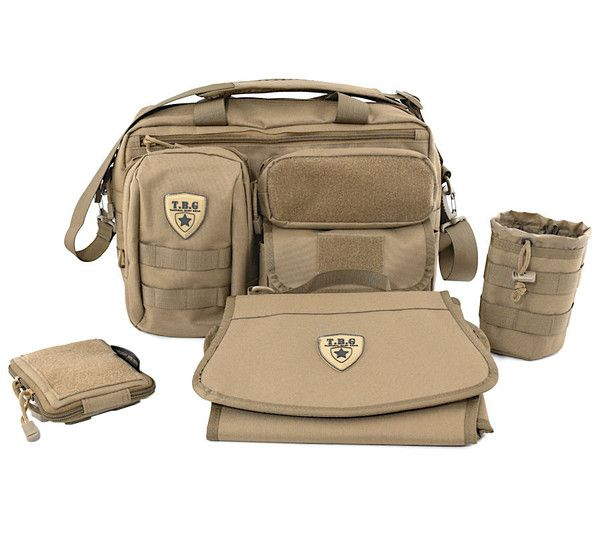 Tbg deuce 2 0 tactical diaper bag combo set baby gear for Daddy carrier