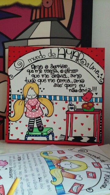 @mundoamaralina  Meus desenhos...