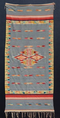 A-FANTASTIC-1920s-ANTIQUE-MEXICAN-SALTILLO-SERAPE-BLANKET-RUG -SHAWL-EXCELLENT 6604ce5aa