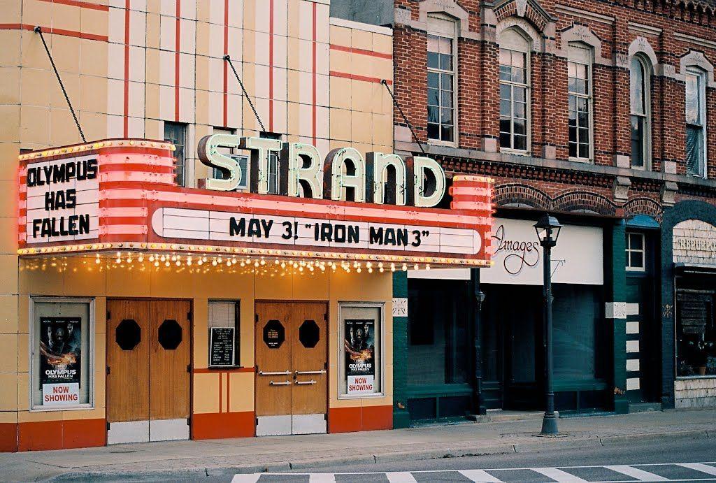 Strand Theatre Caro michigan, Michigan, Marine city