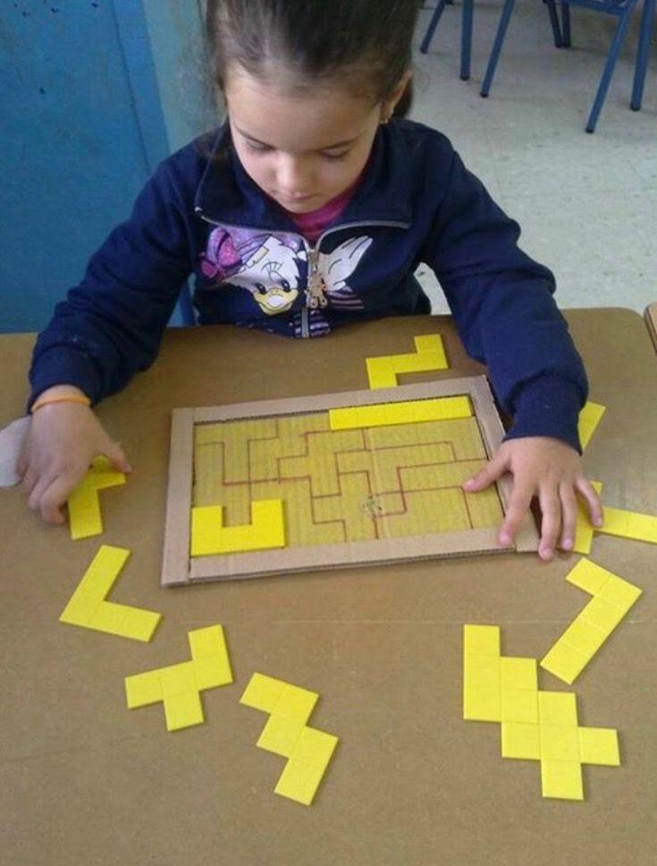 Pentaminós | jardín | Pinterest | Preescolar, Juegos y Actividades