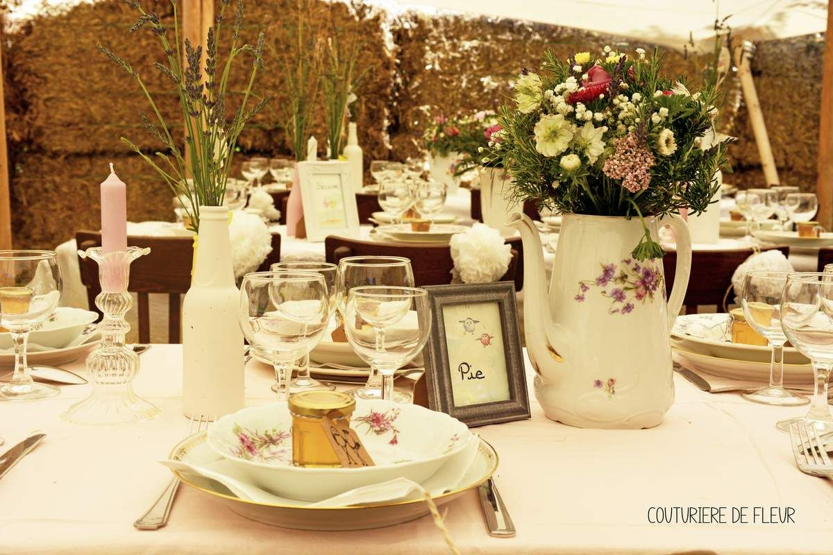 Decoration mariage boheme vintage