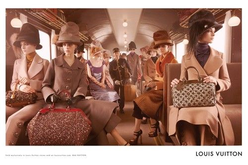 bohemea:    Louis Vuitton Fall/Winter 2012-13 by Steven Meisel