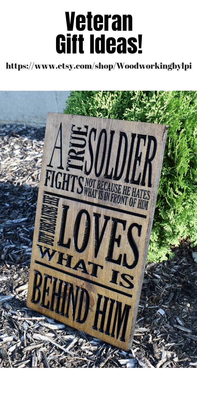 Military Decor Veterans Gift Gifts For Men Mens Gift