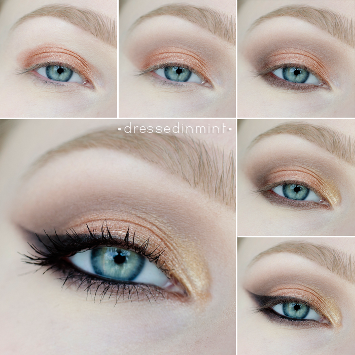 Dressed in Mint Makeup Revolution ICONIC 2 step by step