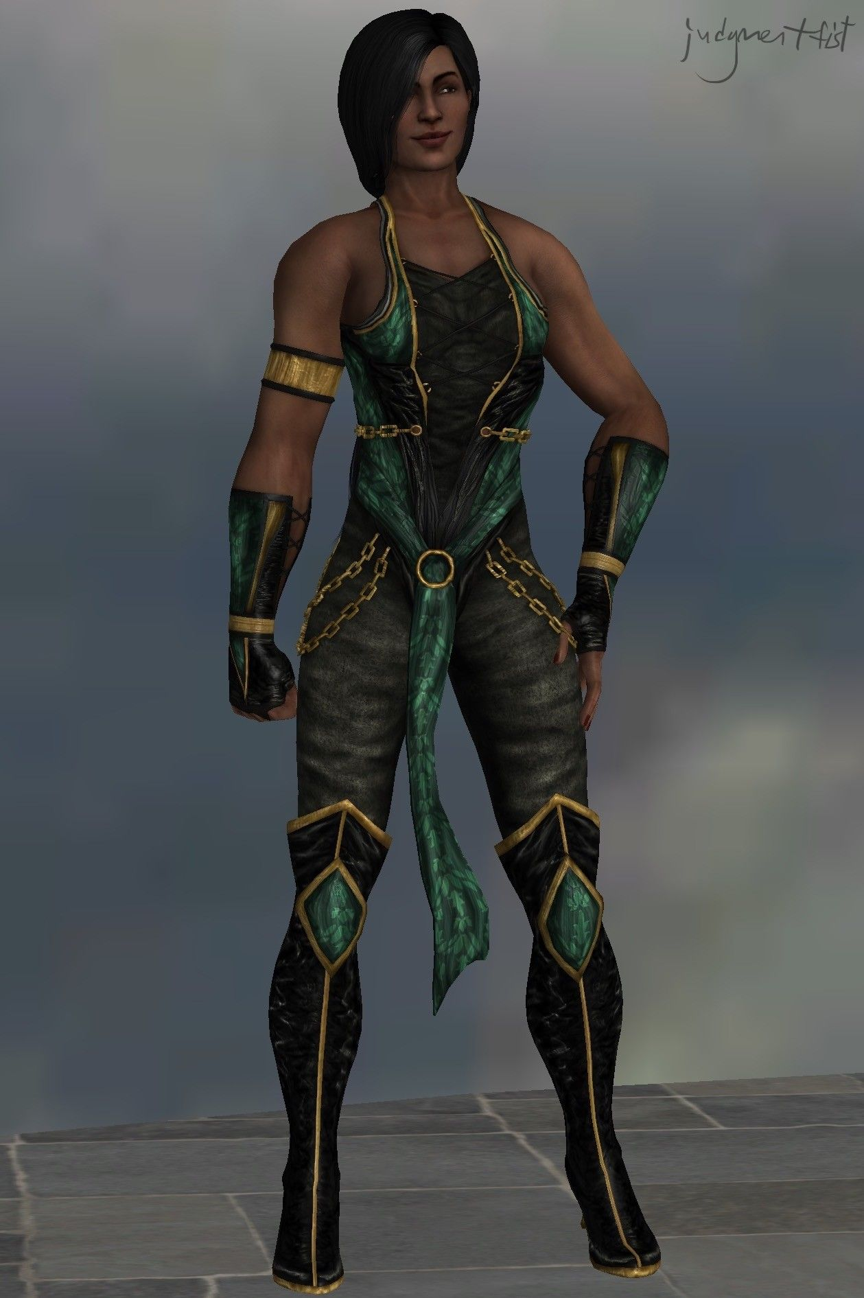 ArtStation - Revised Jade (MK9), JF (EE) | Ps4 | Mortal