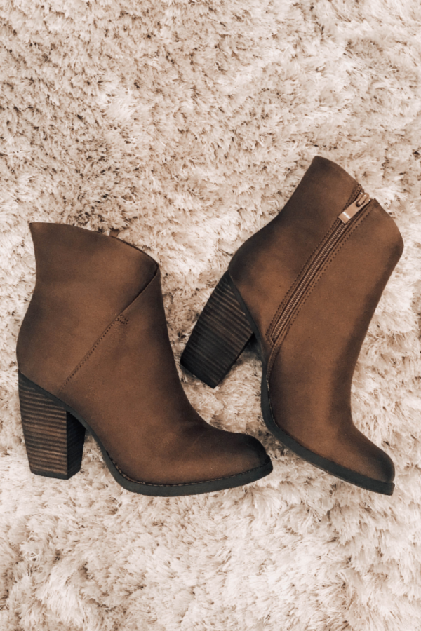 db3a969fd Winter 2018 shoe trends, best ankle booties, brown boots, high ankle boots,  Sbicca, comfortable boots