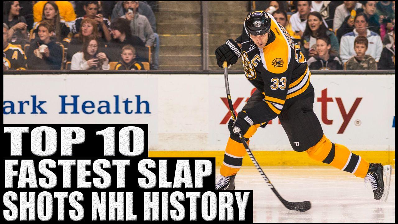 Top 10 Fastest Slap Shots In Nhl History Slap Shot Nhl History