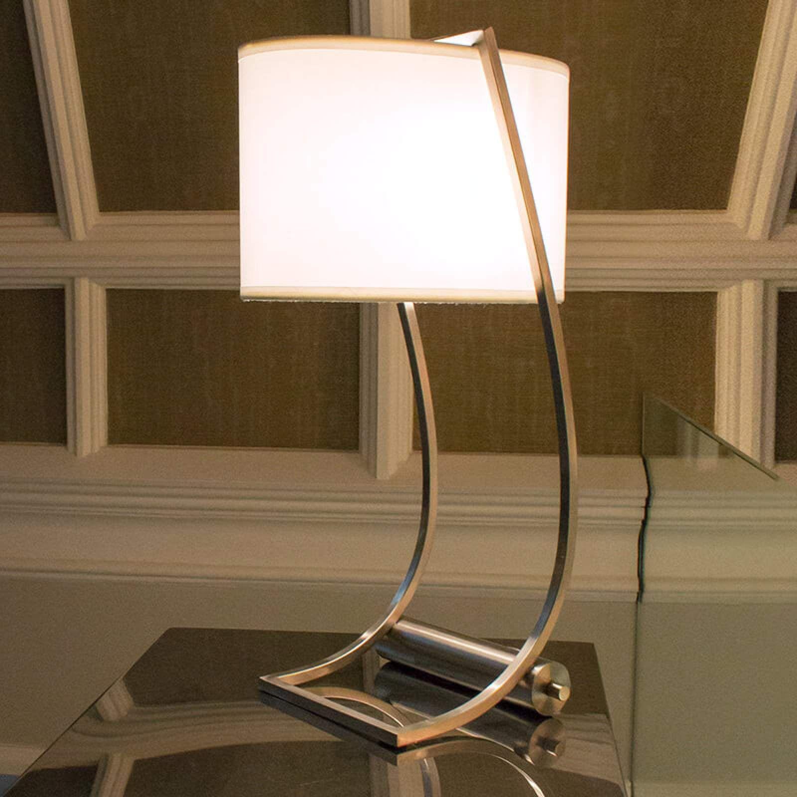 Usb Anschluss Integriert Textil Tischleuchte Lex Tischleuchte Lampentisch Und Moderne Leuchten