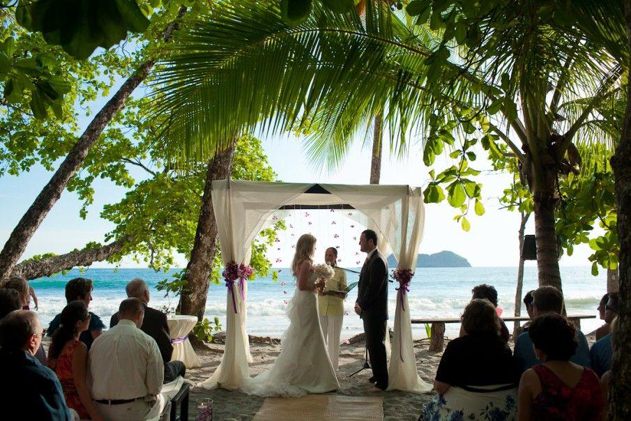 Costa rica wedding photographer cr beach ceremony for Weddings in costa rica