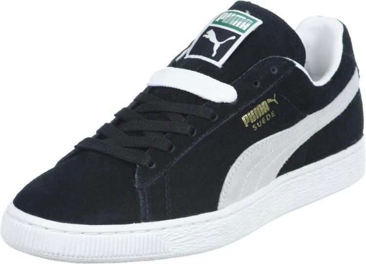 Smash WNS V2 L, Baskets Basses Femme, Noir Black White, 40.5 EUPuma