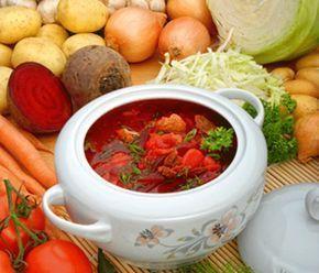 Rezept: Russischer Borschtsch #falldinnerrecipes
