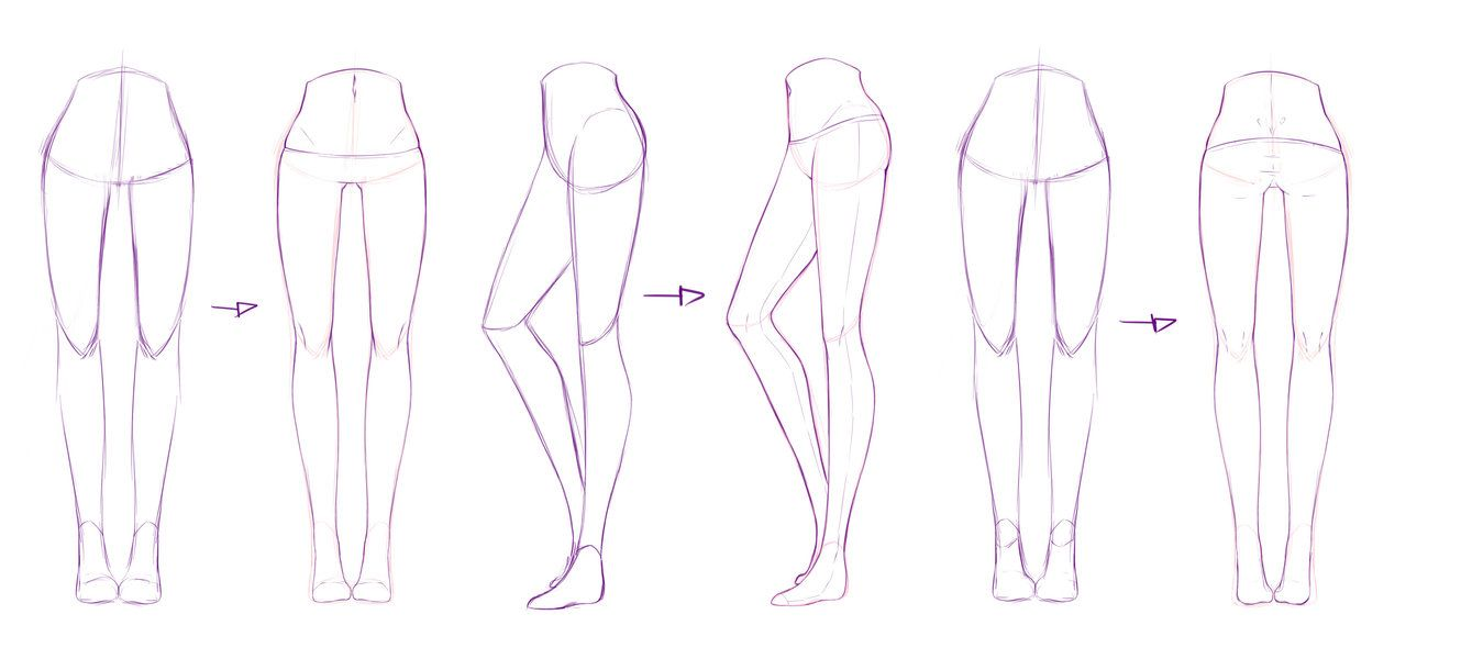 legs girl draw - Buscar con Google