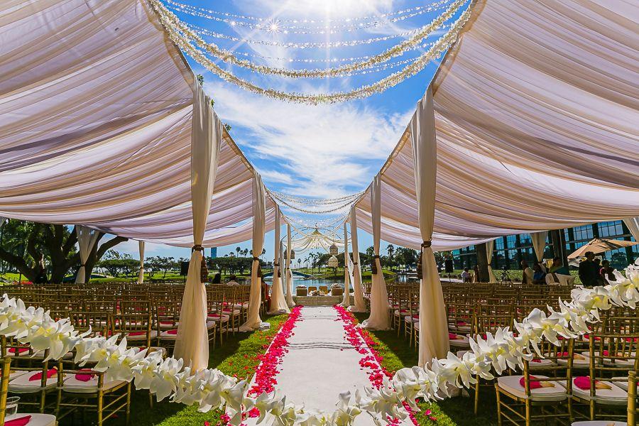Amazing Beach Wedding Decoration Ideas: An Amazing Indian Wedding Setup!
