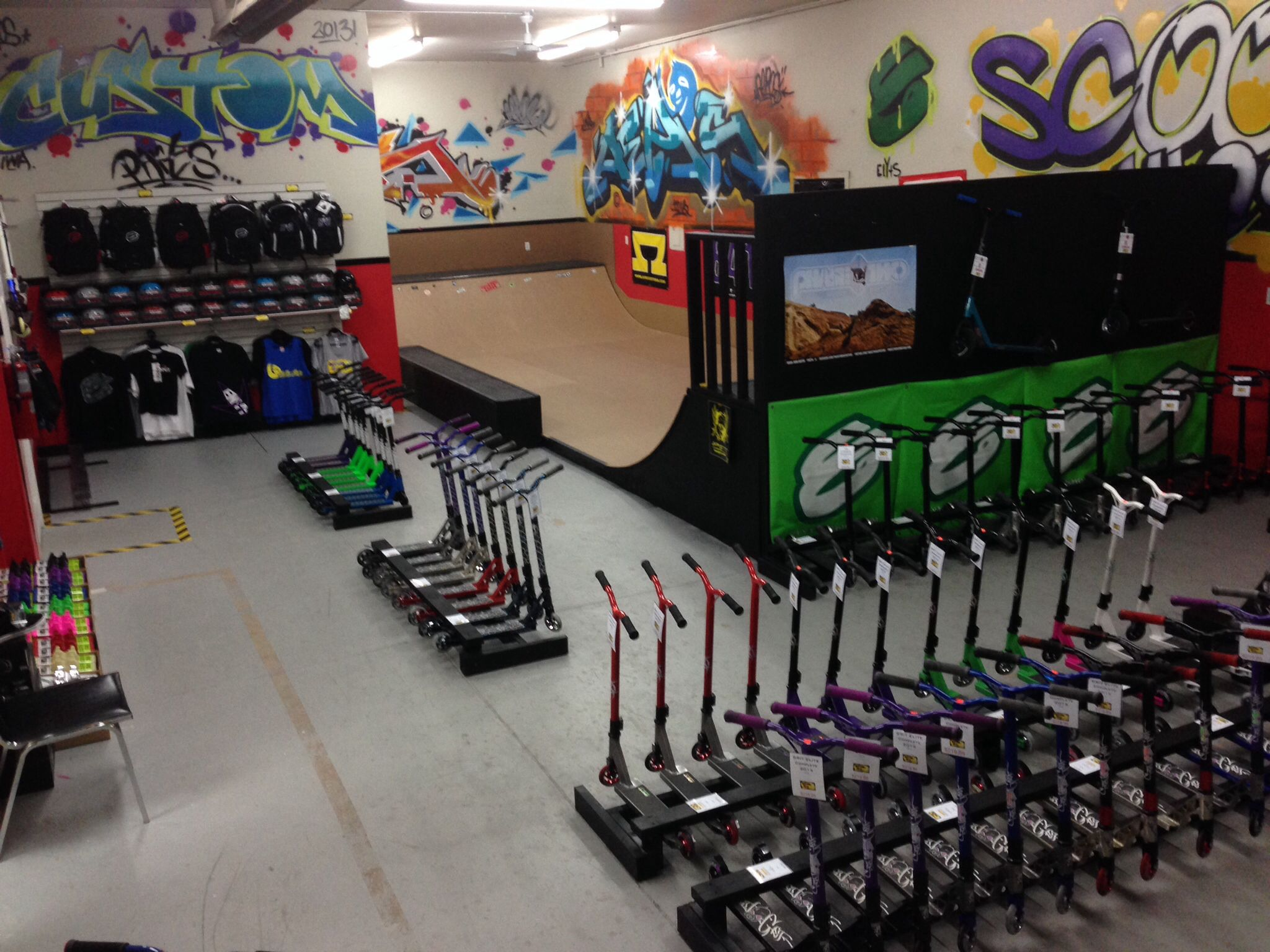 Scooter Alley Pro Shop Inc. Scooter store, Pro scooters