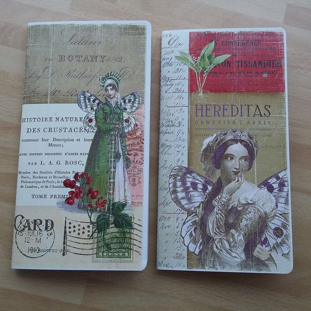 Sonderformate - Notizheft Regular Midori Traveler´s Notebook - ein Designerstück von Prinzidee bei DaWanda