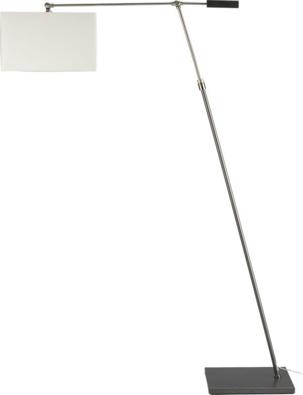 199 cb2 luxe floor lamp in view all lighting sku dimensions 40