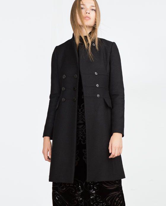Image 3 of TAILORED COAT from Zara | WW | Pinterest | Coats Zara