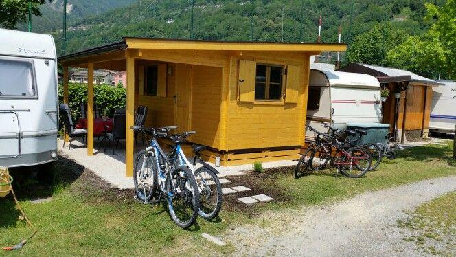 Blockhaus mit Wohnwagen am Cover See Zu verkaufen