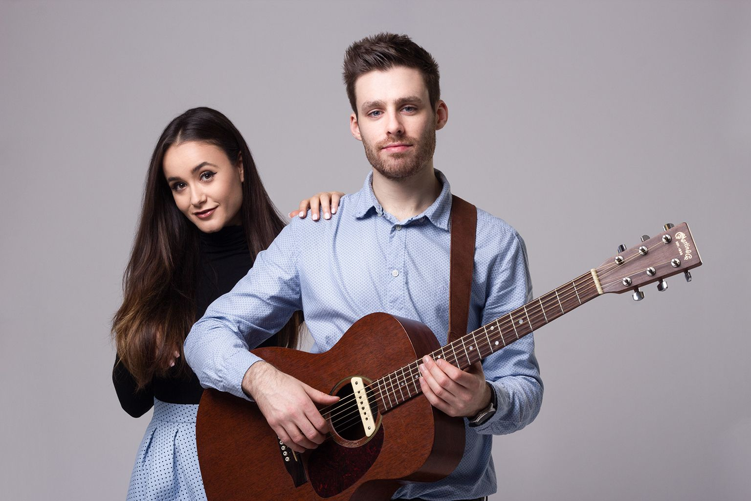 Ed Oliviya Acoustic Duo In London Headliner Party Wedding Live Entertainment Duo Acoustic Musician
