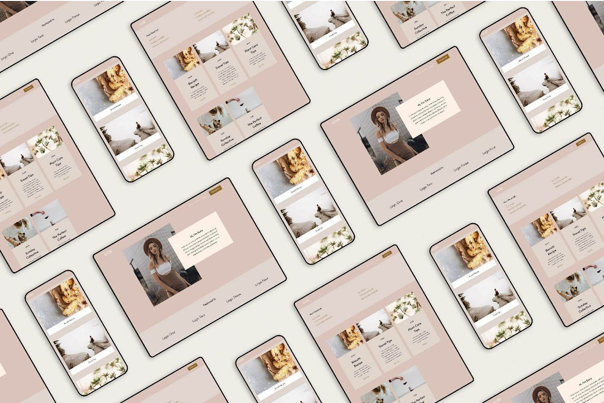 Gobi Squarespace 7 1 Template Business Card Template Design Templates Squarespace