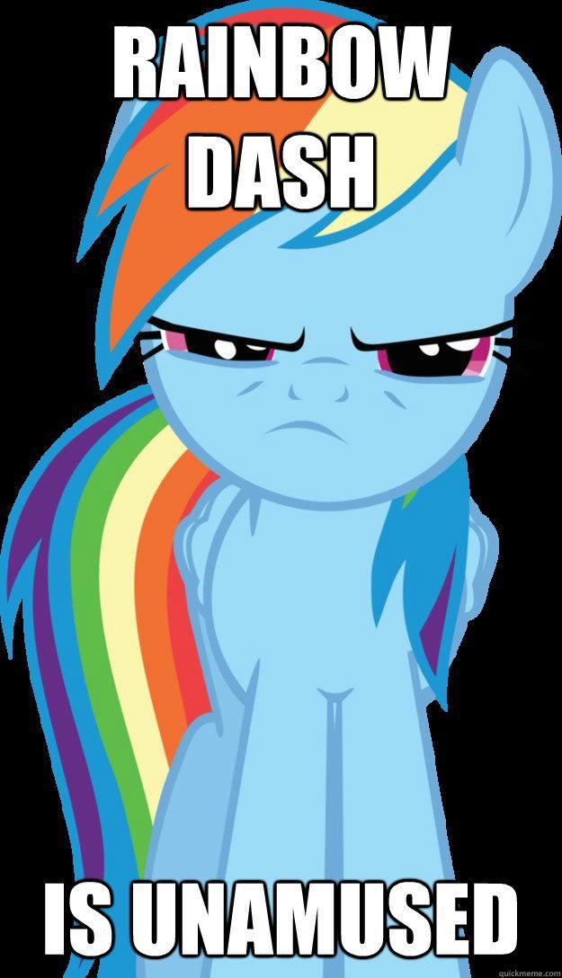 6b7acf8672884b2ae2a8d627995e1547 mlp rainbow dash meme google search rainbow dash pinterest