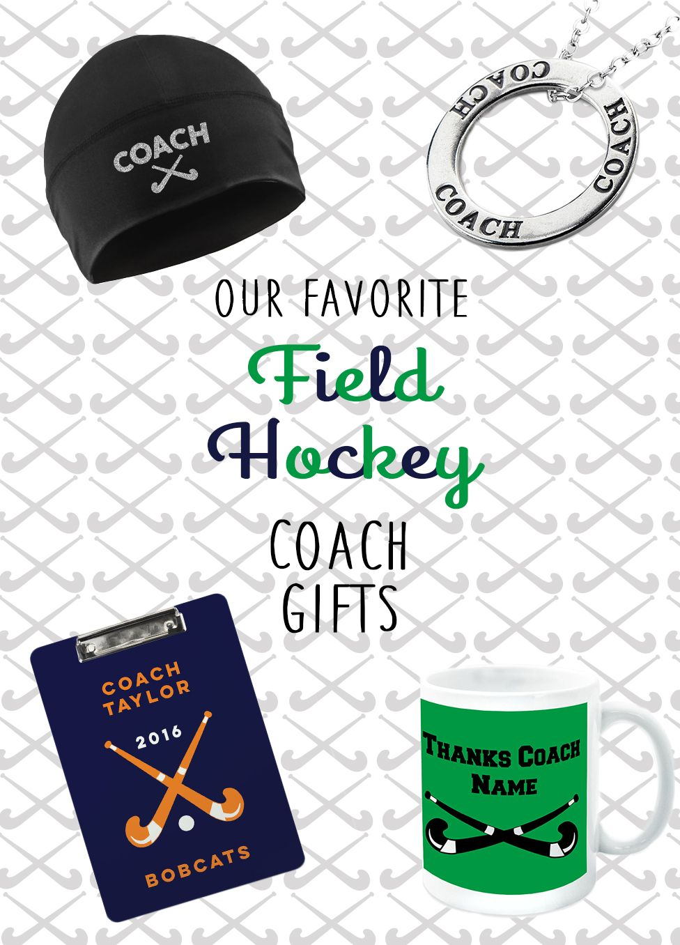 Thank Your Fieldhockey Coach For All They Do With One Of Our Fabulous Gifts Hockey Coach Gifts Field Hockey Hockey Coach
