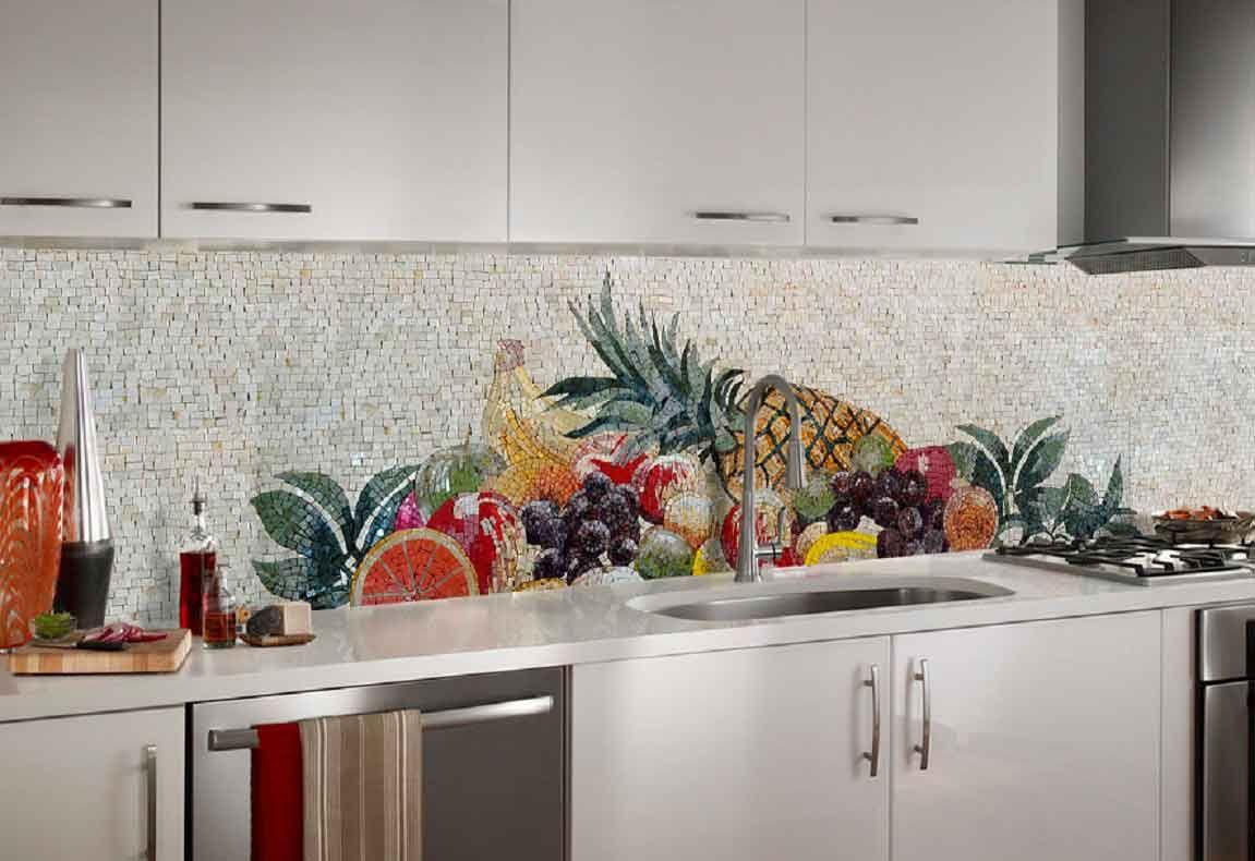 мозаичные фартуки кухни фото язвы