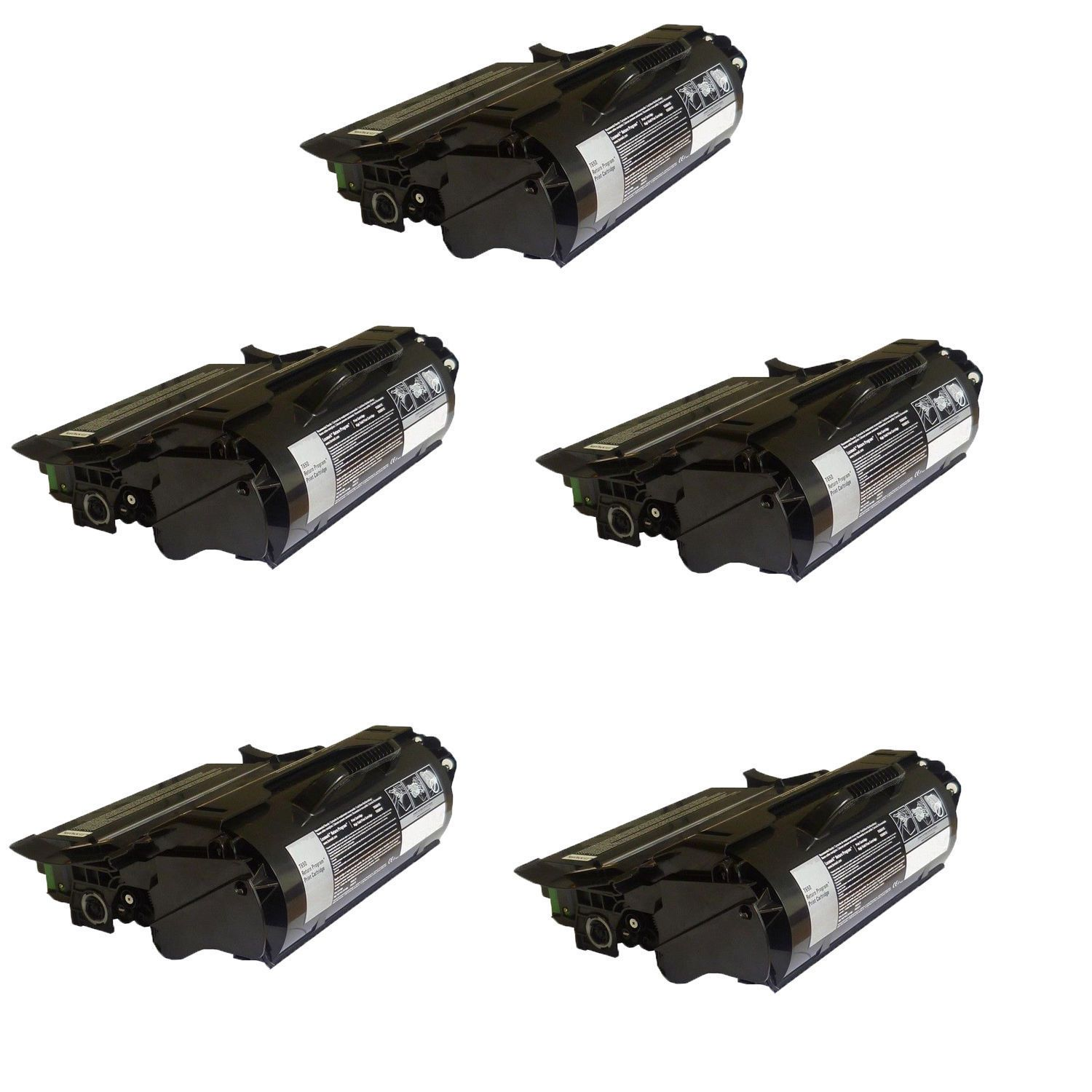 N 5PK Compatible T650H11A Toner Cartridge For Lexmark T650 T650DN T650DTN T650N