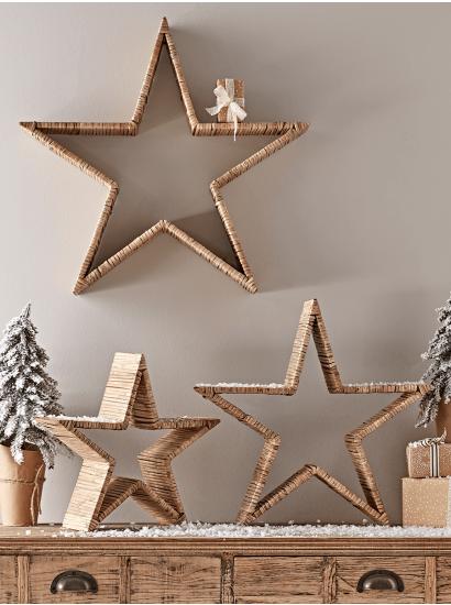 Christmas Decorations Indoor Outdoor Traditional Decorations Uk Sale In 2020 Scandi Christmas Christmas Crackers Christmas Tree Star