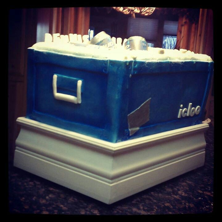 Bud Light Groomsmen Cake
