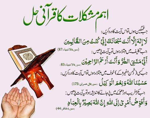 Islamic and Qurani Wazaif in urdu, Dua, Hadees, Durood Sharif