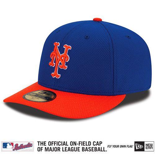on sale 764e0 03d9c New York Mets Authentic Collection Low Crown Diamond Era 59FIFTY Alternate  Cap - MLB.com Shop