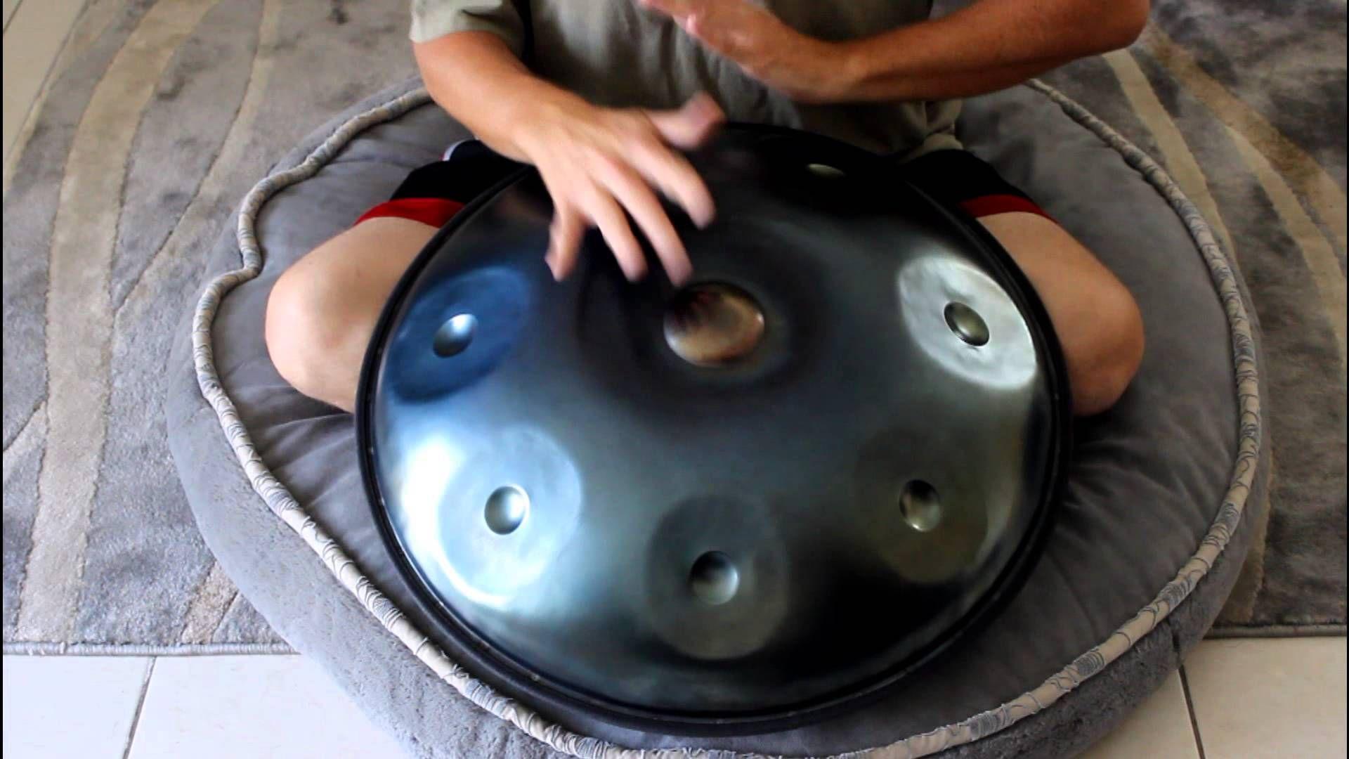 """Zen Handpan, """"Solaris"""" Hand drum, Drum set, Drums"""