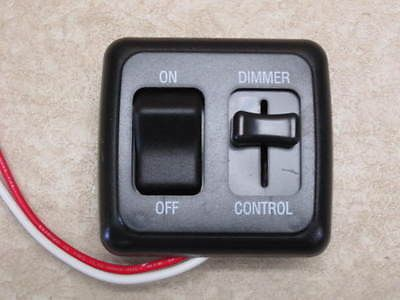 Dimmer Switch 12 Volt On Off Light Rv Motor Home Camper Travel Trailer Marine Bk Travel Trailer Floor Plans Dimmer Switch Travel Trailer
