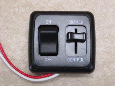 Dimmer Switch 12 Volt On Off Light Rv Motor Home Camper Travel Trailer Marine Bk Travel Trailer Floor Plans Dimmer Switch Travel Trailer