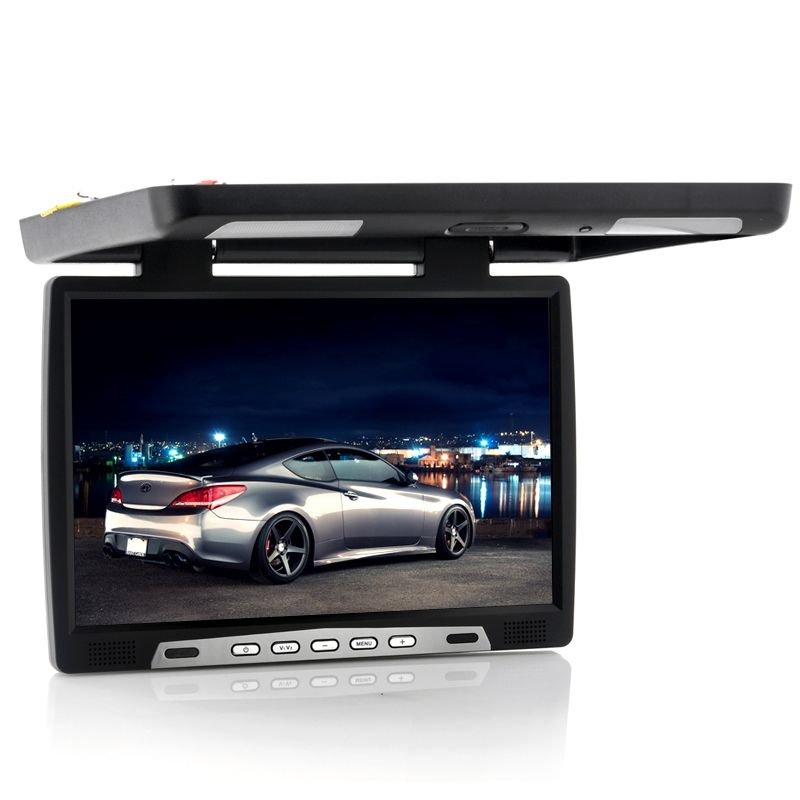 17 Inch Roof Mounted Car Monitor Enstoc Car Videos Monitor Bluetooth Car Stereo
