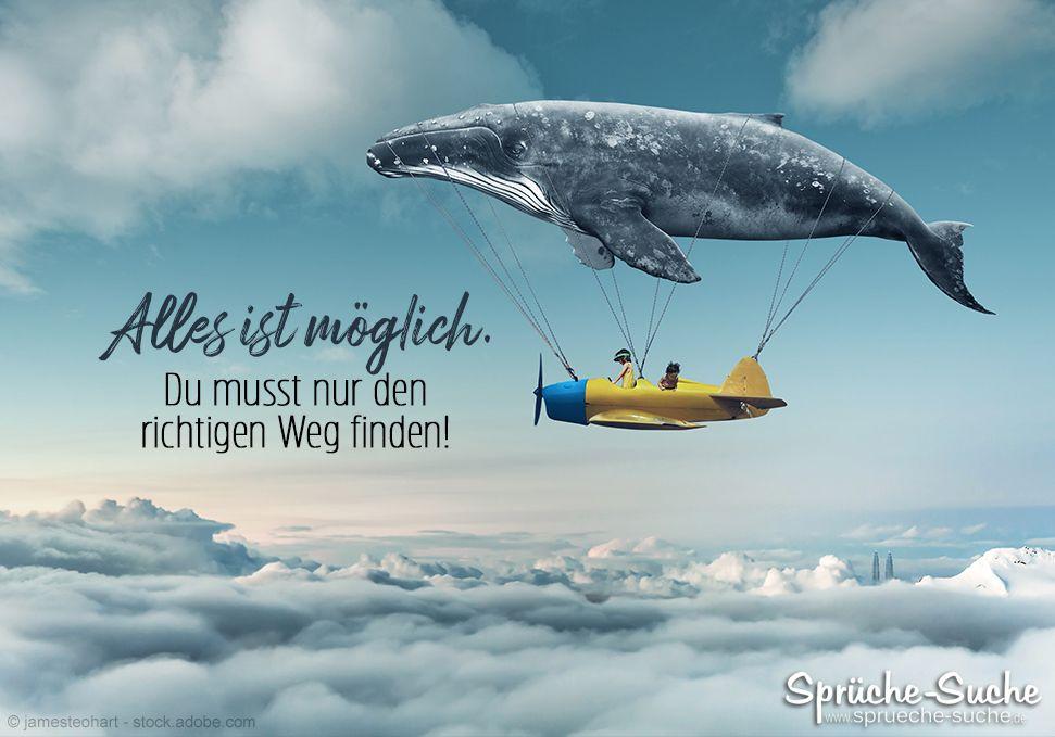 Alles ist möglich! - Motivierender Spruch für die Zukunft ...
