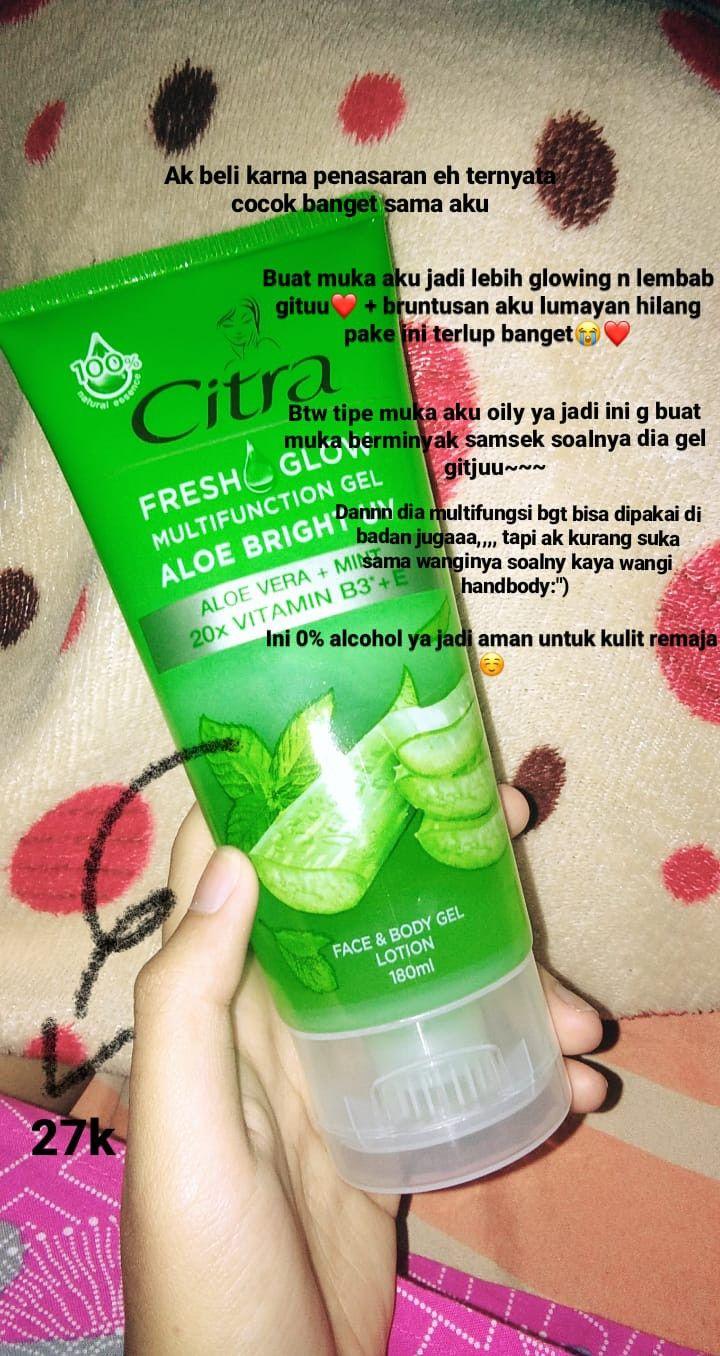 Citra Aloe Vera : citra, Citra, Fresh, Bright, Uv🌴🍃, Produk, Perawatan, Kulit, Alami,
