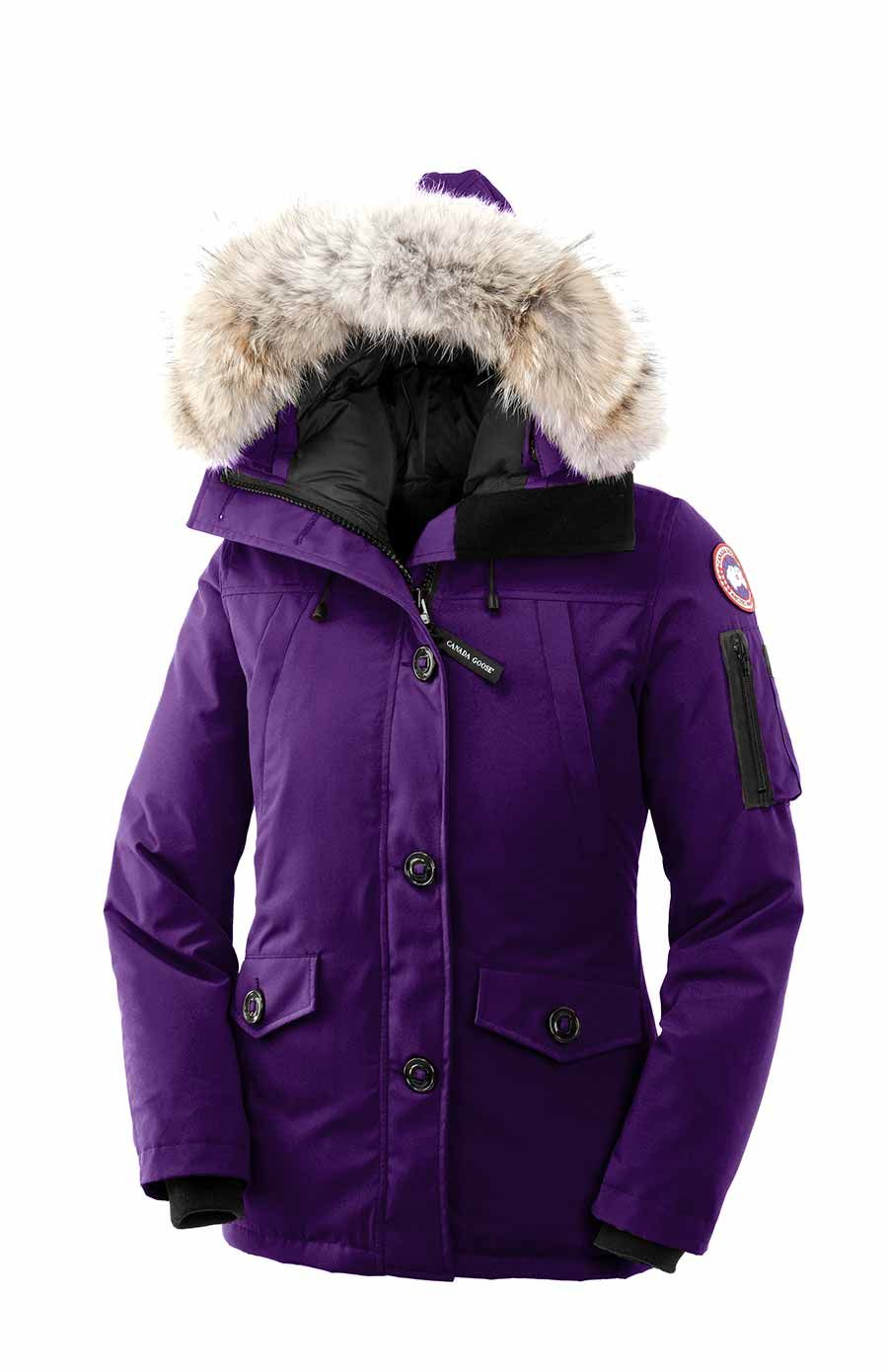 canada goose montebello parka in arctic dusk purple canada goose parka fashion outfits. Black Bedroom Furniture Sets. Home Design Ideas