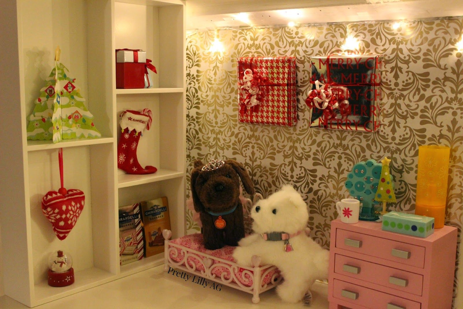 Pretty Lilly An American Girl Christmas Doll Bedroom Decorations