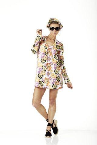 Skye Harte Lana Retro Silk Dress $349.00 - Skye Harte