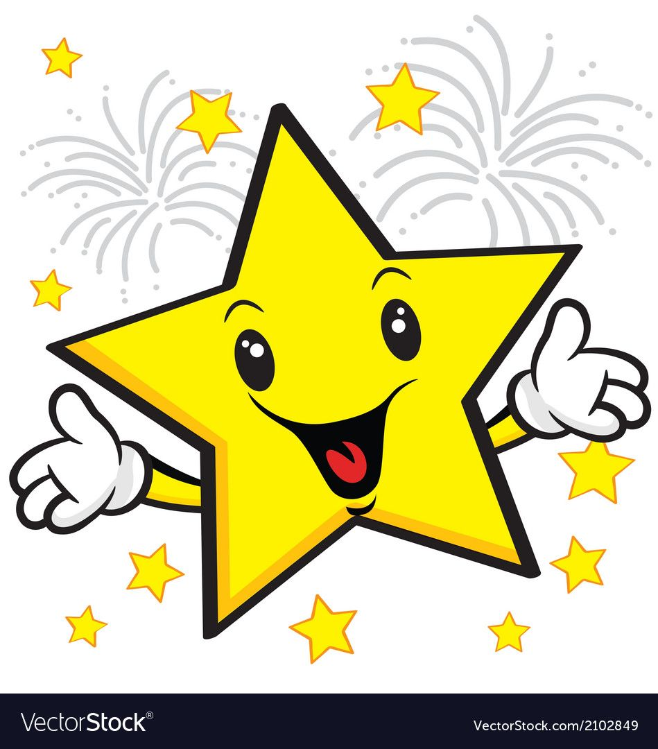 Smiling Star And Firework Download A Free Preview Or High Quality Adobe Illustrator Ai Eps Pdf And High Res In 2021 Rainbow Cartoon Wallpaper Stickers Star Students