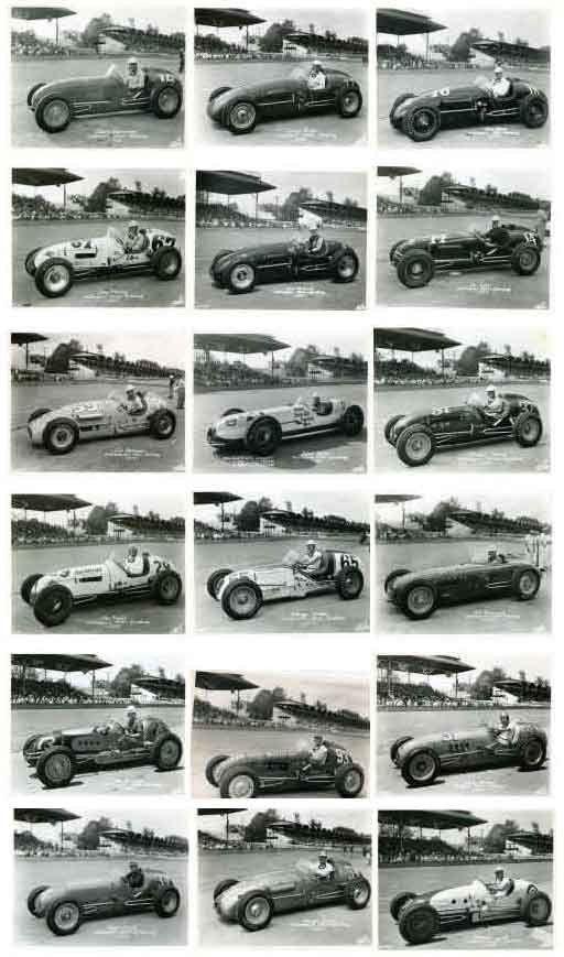 Auto Racing Indianapolis 500 1952