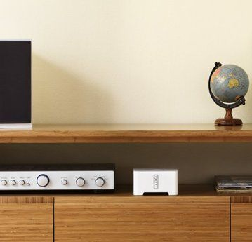 SONOS - CONNECT Wireless Streaming Music Stereo Receiver Component - sonos play 1 badezimmer