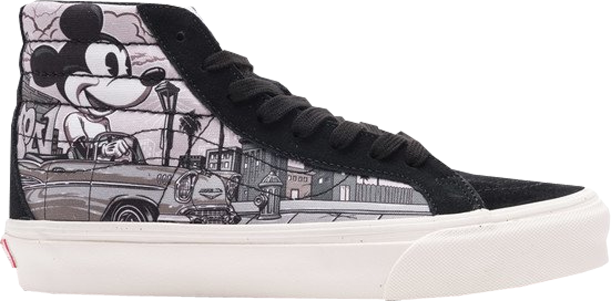 Vans Sk8Hi Disney x Mr. Cartoon Cartoon shoes, Vans