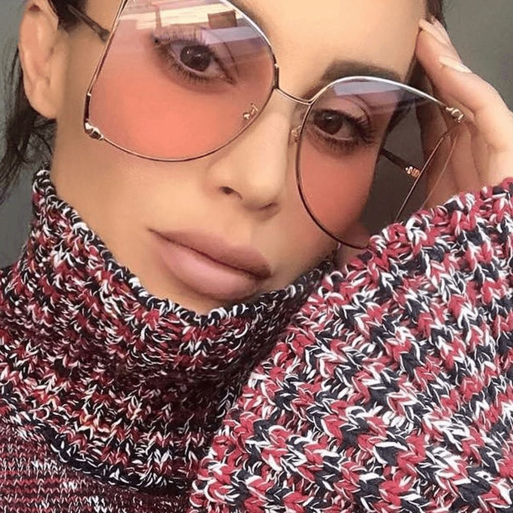 2db42f79fc Large Designer Oversized Women Sunglasses Square Metal Frame Fashion  Shades   9.95 End Date  Sunday Nov-4-2018 14 00 23 PST Buy It Now for…