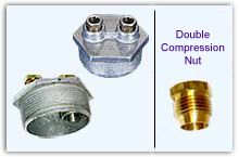 3-Way Tap (Double-Compression Nut)