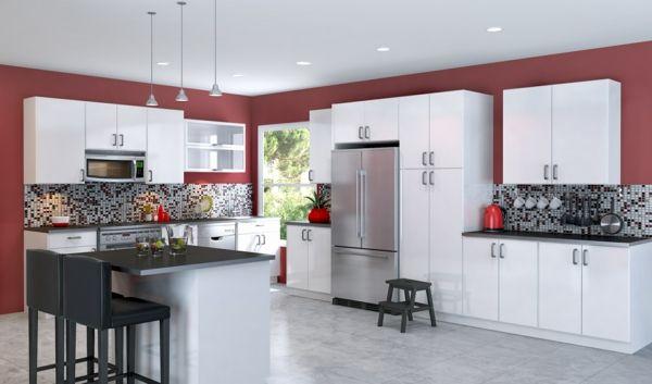 Schön Küche Einrichten Küchengerät Küchenausstattung Kücheneinrichtungsideen