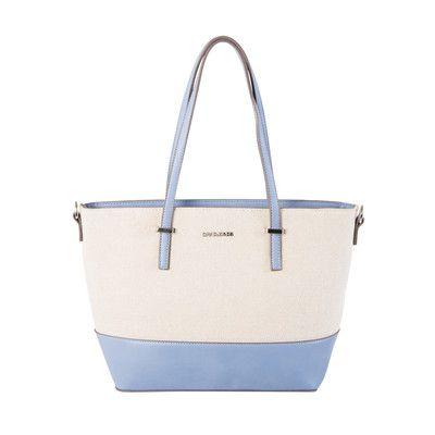 David Jones Turquoise Satchel Bag